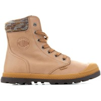kengät Naiset Bootsit Palladium Pampa Knit LP F 95172-720-M yellow