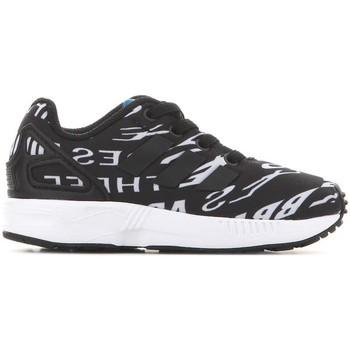 kengät Lapset Matalavartiset tennarit adidas Originals Adidas ZX Flux EL I BB2434 black