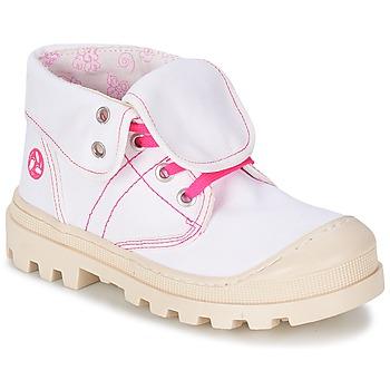 kengät Tytöt Bootsit Citrouille et Compagnie BASTINI White