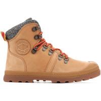 kengät Naiset Bootsit Palladium Manufacture Pallabrouse Hikr 95140-278 brown