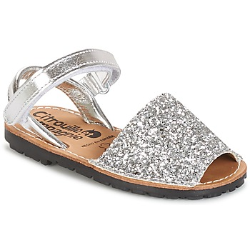kengät Tytöt Sandaalit ja avokkaat Citrouille et Compagnie SQUOUBEL Silver