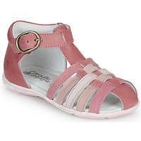 kengät Tytöt Sandaalit ja avokkaat Citrouille et Compagnie VISOTU Pink / Monivärinen