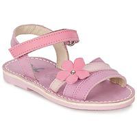 kengät Tytöt Sandaalit ja avokkaat Citrouille et Compagnie VIZIEL Violet / Pink