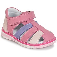 kengät Tytöt Sandaalit ja avokkaat Citrouille et Compagnie CHIZETTE Lila / Pink / Fuksia
