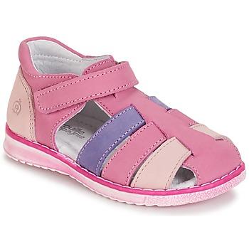 kengät Tytöt Sandaalit ja avokkaat Citrouille et Compagnie FRINOUI Lila / Pink / Fuksia
