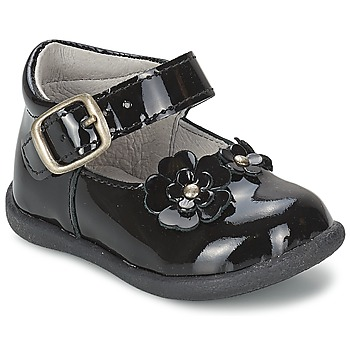 kengät Tytöt Balleriinat Citrouille et Compagnie ASKO Black