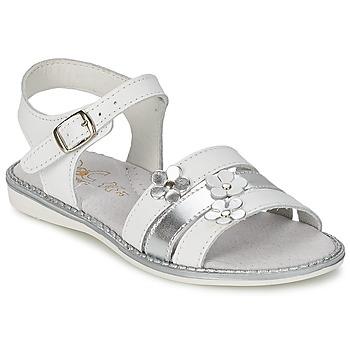 kengät Tytöt Sandaalit ja avokkaat Citrouille et Compagnie KATAGUE White