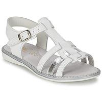 kengät Tytöt Sandaalit ja avokkaat Citrouille et Compagnie ROLUI White