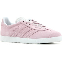 kengät Naiset Matalavartiset tennarit adidas Originals Adidas Gazelle Stitch and Turn W BB6708 pink