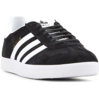 kengät Miehet Matalavartiset tennarit adidas Originals Adidas Gazelle BB5476 black, white