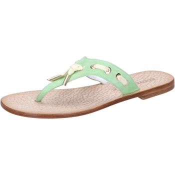 kengät Naiset Sandaalit ja avokkaat Eddy Daniele sandali verde camoscio aw326 Verde