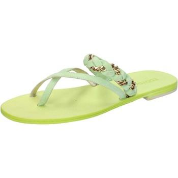 kengät Naiset Sandaalit ja avokkaat Eddy Daniele sandali verde camoscio aw169 Verde