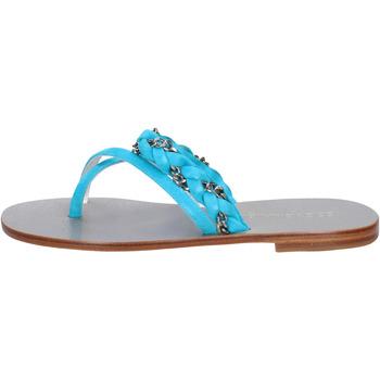 kengät Naiset Sandaalit ja avokkaat Eddy Daniele sandali celeste camoscio aw193 Blu
