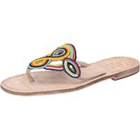 kengät Naiset Sandaalit ja avokkaat Eddy Daniele sandali multicolor pelle perline av408 Multicolore
