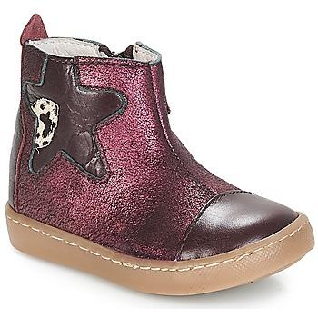 kengät Tytöt Bootsit GBB LIAT Tummansininen / vihreä / Dpf / 2706