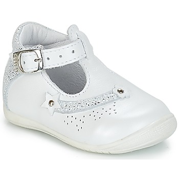 kengät Tytöt Sandaalit ja avokkaat GBB PASCALE White / Dpf / Kezia