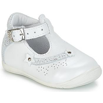 kengät Tytöt Matalavartiset tennarit GBB PASCALE White / Dpf / Kezia