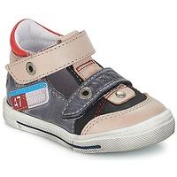 kengät Pojat Sandaalit ja avokkaat GBB PEPINO Harmaa / Dpf / Musta / valkoinen / kulta