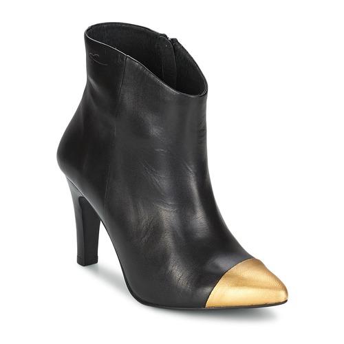 kengät Naiset Nilkkurit Pastelle ARIEL Musta-kultainen
