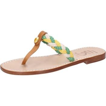 kengät Naiset Sandaalit ja avokkaat Eddy Daniele sandali multicolor pelle corda ax790 Multicolore