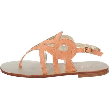 kengät Naiset Sandaalit ja avokkaat Eddy Daniele sandali arancione camoscio aw320 Arancio