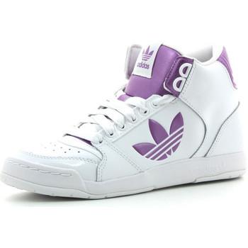 kengät Naiset Korkeavartiset tennarit adidas Originals Midiru Court 2.0 TR White / Pink
