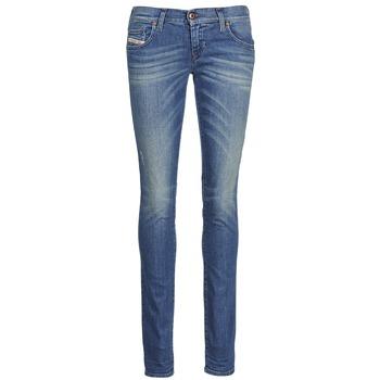vaatteet Naiset Slim-farkut Diesel GRUPEE Blue