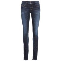 vaatteet Naiset Slim-farkut Diesel LIVIER Blue