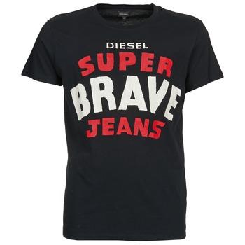 vaatteet Miehet Lyhythihainen t-paita Diesel T-ASTERIOS Black