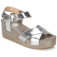 kengät Naiset Sandaalit ja avokkaat RAS NIOBE Argenté