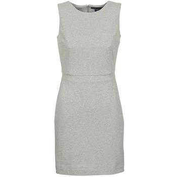 vaatteet Naiset Lyhyt mekko Gant L. JERSEY PIQUE Harmaa