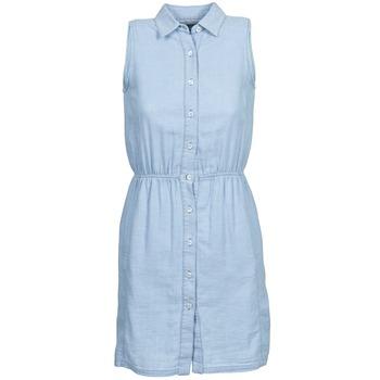 vaatteet Naiset Lyhyt mekko Gant O. INDIGO JACQUARD Blue