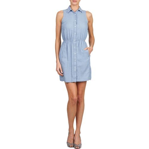 Gant O. Indigo Jacquard Blue - Ilmainen Toimitus- Vaatteet Lyhyt Mekko Naiset 106