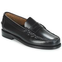 kengät Miehet Mokkasiinit Sebago CLASSIC PENNY BRUSHED Black