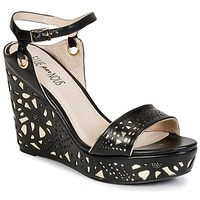 kengät Naiset Sandaalit ja avokkaat Elue par nous RIAZONE Black