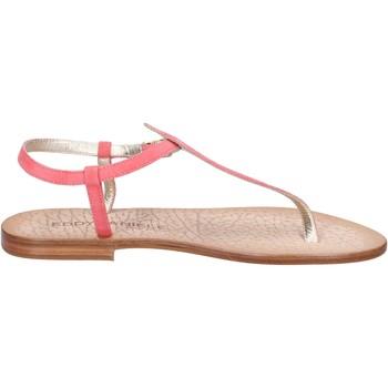 kengät Naiset Sandaalit ja avokkaat Eddy Daniele sandali rosa camoscio ax914 Rosa