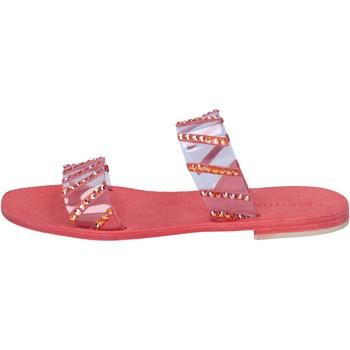 kengät Naiset Sandaalit ja avokkaat Eddy Daniele sandali rosso plastica swarovski aw463 Rosso