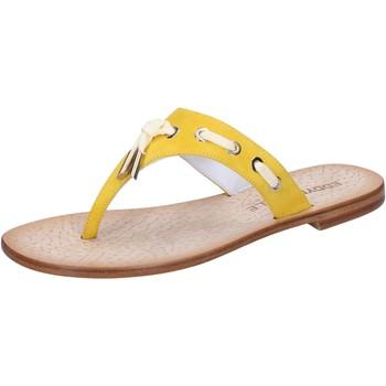 kengät Naiset Sandaalit ja avokkaat Eddy Daniele sandali giallo camoscio aw322 Giallo