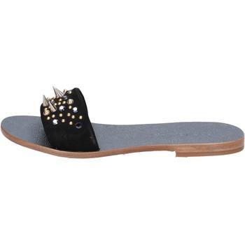 kengät Naiset Sandaalit ja avokkaat Eddy Daniele sandali nero camoscio borchie ax775 Nero