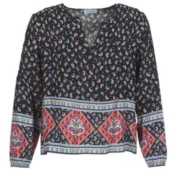 vaatteet Naiset Topit / Puserot Casual Attitude WASAS Black / Monivärinen
