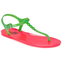 kengät Naiset Sandaalit ja avokkaat Love Moschino JA16381G0KJN180A Green / Pink