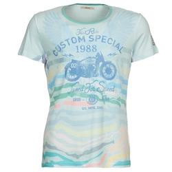vaatteet Miehet Lyhythihainen t-paita Gaudi ABHIJVALA Blue