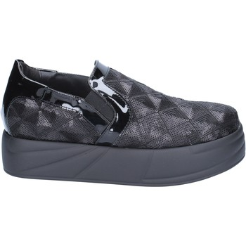 kengät Naiset Tennarit Jeannot slip on mocassini nero paillettes BX129 Nero