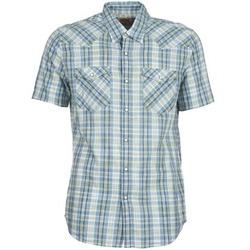 vaatteet Miehet Lyhythihainen paitapusero Levi's WOVENS Blue