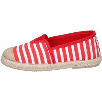 kengät Pojat Espadrillot Cienta espadrillas rosso tessuto bianco profumate BX287 Rosso