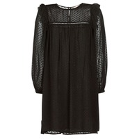 vaatteet Naiset Lyhyt mekko Moony Mood BREYAT Black