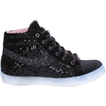 kengät Naiset Korkeavartiset tennarit Fiori Di Picche BX345 Musta