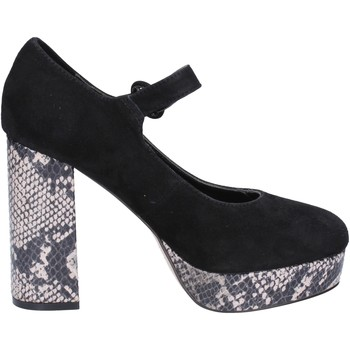 kengät Naiset Korkokengät Emanuélle Vee Dekolte kengät BX384 Musta