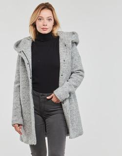 vaatteet Naiset Paksu takki Only ONLSEDONA Grey