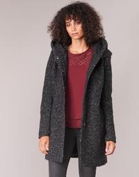 vaatteet Naiset Paksu takki Only ONLSEDONA Black